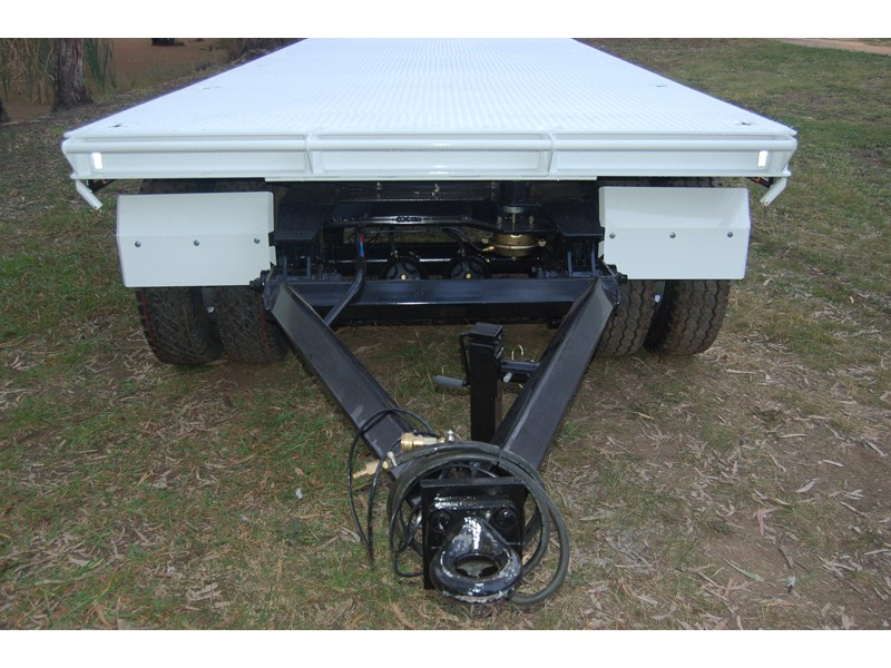northstar transport equipment tri axle plant dog trailer 63090 009