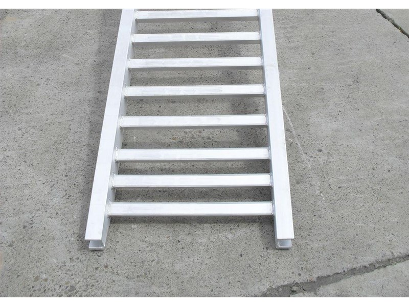 rhino 3.0 ton aluminum loading ramps [450 mm wide] 7/3033pt [attramp] 235655 010