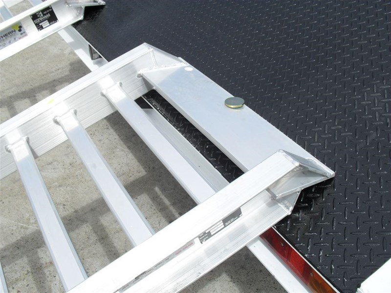 rhino ramps - 4.8 ton aluminum loading ramps [400 mm wide] 7/4833t [attramp] 235647 006