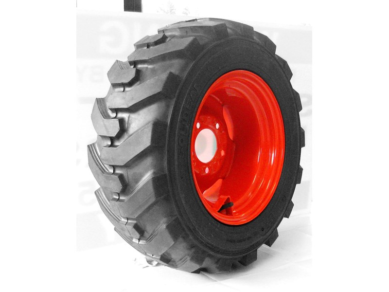 rhino 8.5-12 spare tyre assemble fit bobcat model 463 skid steer loaders [atttyre] [work ready]   [ 6 ply tubeless ] 236946 002
