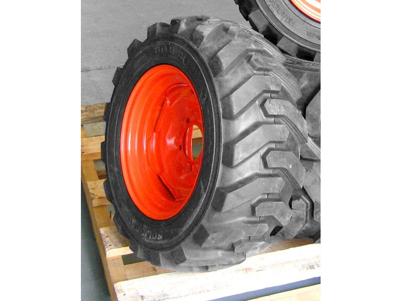 rhino spare tyre assemble 8.5-12 fit bobcat model 463 skid steer loaders [atttyre] [work ready] [ 6 ply tubeless ] 236950 004