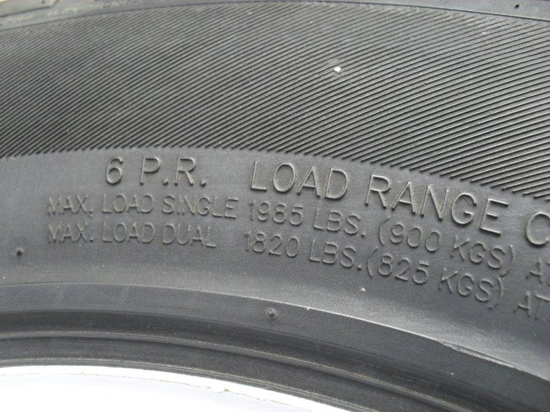 other 235/75r15 6ply trailers / 4x4 tyre rim wheel assemble / [pp114] [new] [attppitem] [atttyre] 236938 011