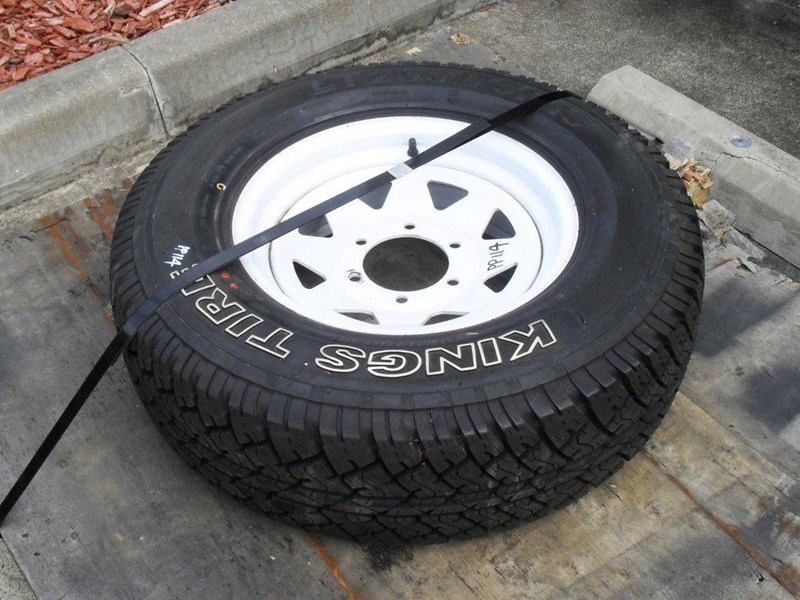 other 235/75r15 6ply trailers / 4x4 tyre rim wheel assemble / [pp114] [new] [attppitem] [atttyre] 236938 001