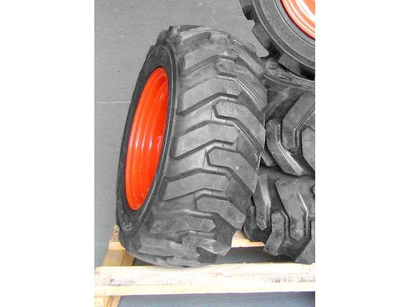 rhino 8.5-12 spare tyre assemble fit bobcat model 463 skid steer loaders [atttyre] [work ready]   [ 6 ply tubeless ] 236946 008
