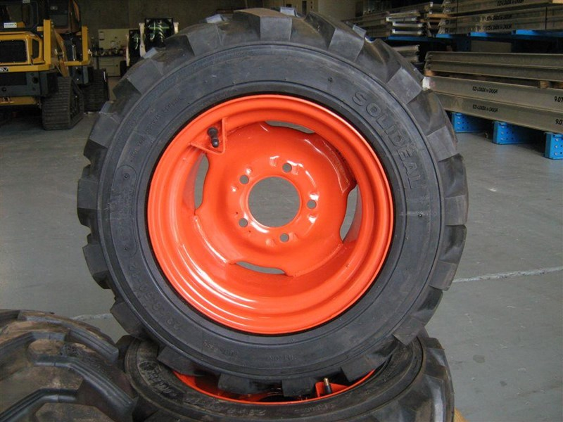 rhino spare tyre assemble 8.5-12 fit bobcat model 463 skid steer loaders [atttyre] [work ready] [ 6 ply tubeless ] 236950 009