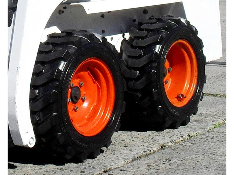 rhino spare tyre assemble 8.5-12 fit bobcat model 463 skid steer loaders [atttyre] [work ready] [ 6 ply tubeless ] 236950 016