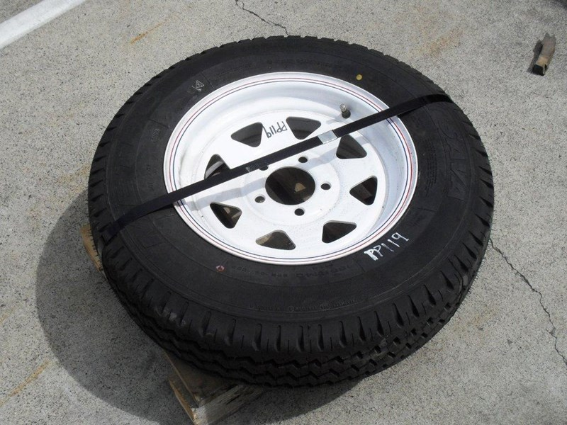 other 185r14c 8ply trailers / 4x4 tyre rim wheel assemble / [pp119] [new] [attppitem] [atttyre] 236930 001