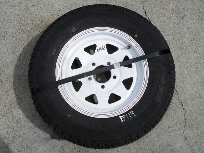 other 185r14c 8ply trailers / 4x4 tyre rim wheel assemble / [pp119] [new] [attppitem] [atttyre] 236930 002