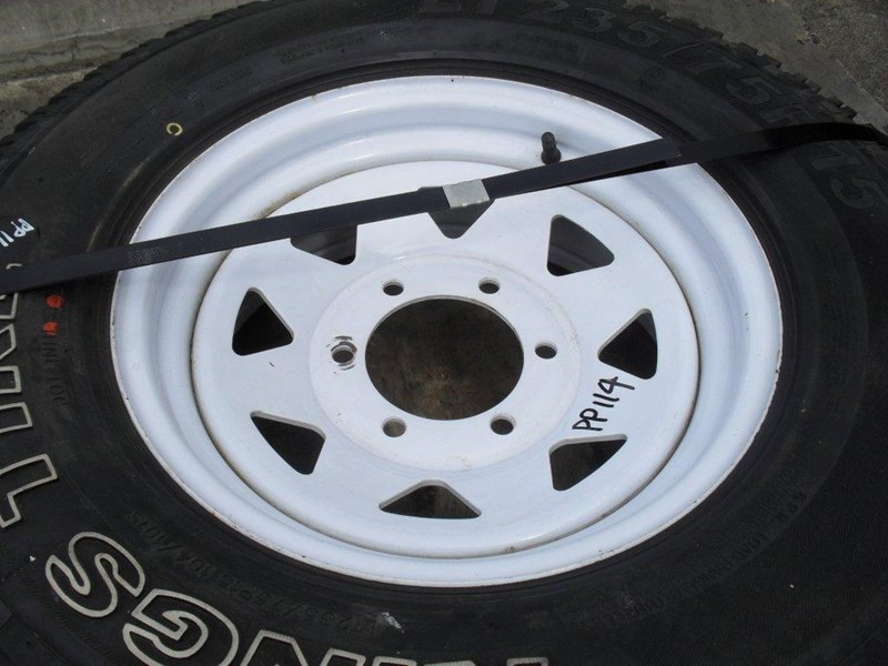 other 235/75r15 6ply trailers / 4x4 tyre rim wheel assemble / [pp114] [new] [attppitem] [atttyre] 236938 005