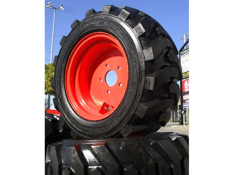 rhino rhino spare tyre assemble 8.5-12 fit bobcat model s70 skid steer loaders [atttyre] [work ready] [ 6 ply tubeless ] 237125 003