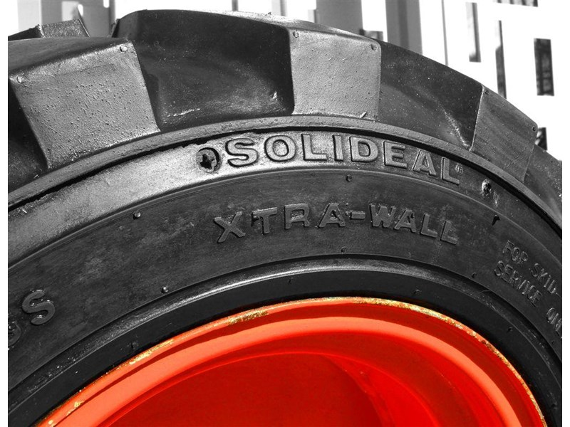 rhino rhino spare tyre assemble 8.5-12 fit bobcat model s70 skid steer loaders [atttyre] [work ready] [ 6 ply tubeless ] 237125 008
