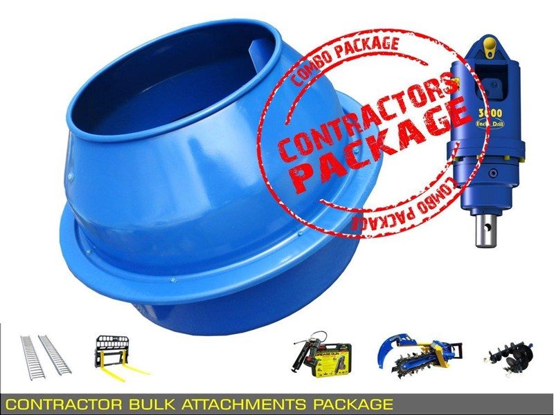 other auger drive unit - contractors bulk attachments package [8 items] [attcombo] 237145 009