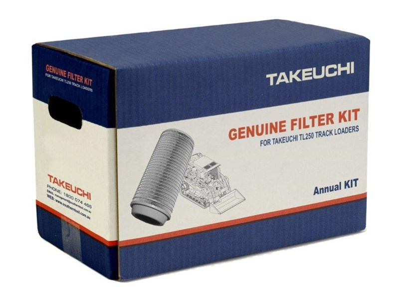 takeuchi tl250 track loaders annual filter kit [genuine] [attpart] [machtake] 237203 001