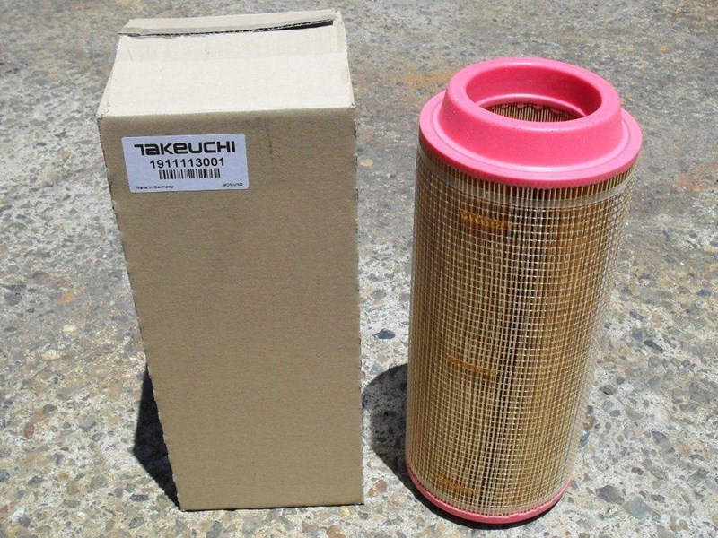 takeuchi tl240 track loaders 250hrs filter kit [genuine] [attpart] [machtake] 237182 006