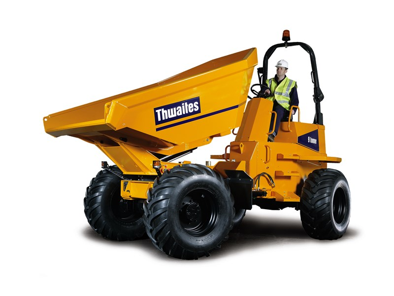 Thwaites Alldrive 9 Tonne Power Swivel