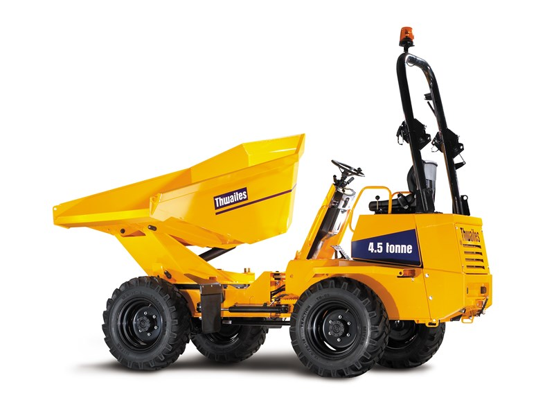 Thwaites Alldrive 4.5 Tonne Power swivel