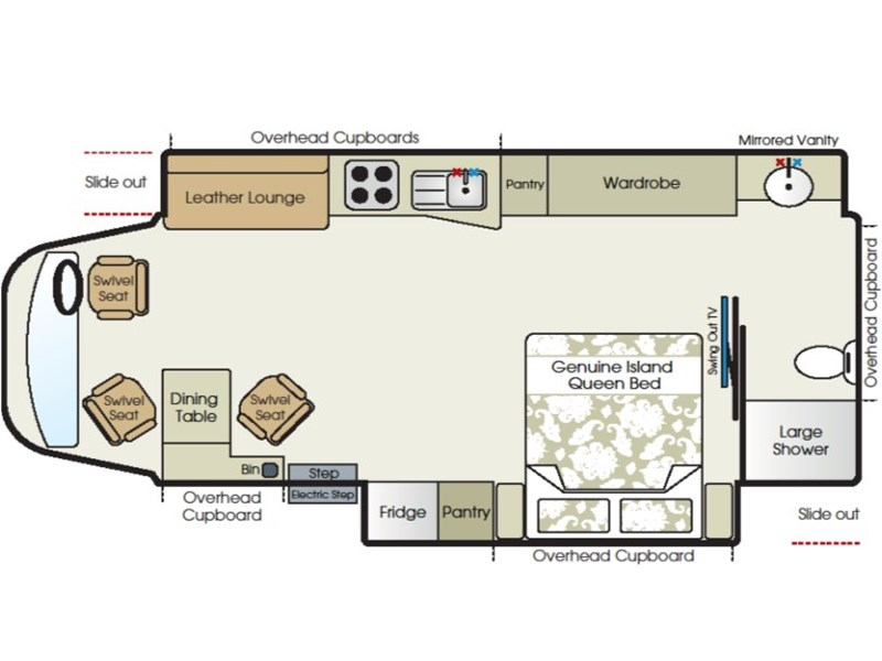 Paradise Motorhomes Independence Layout
