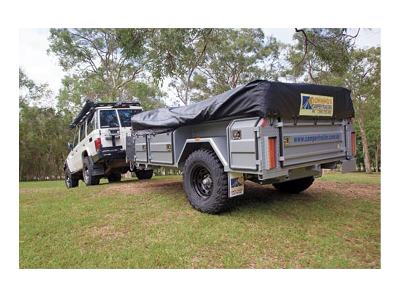 Johnno's Camper Trailers Offroad Tourer Walk Up