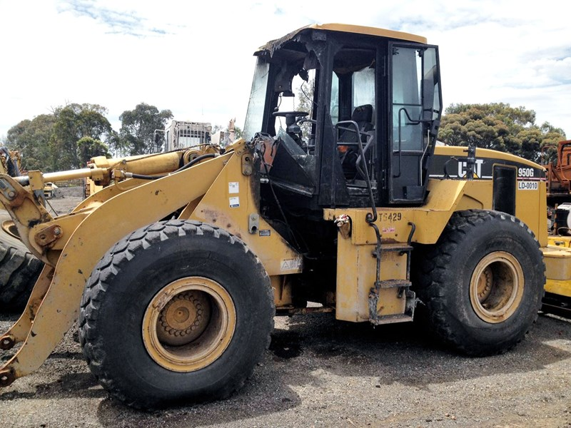 caterpillar 950g-ii 593 001