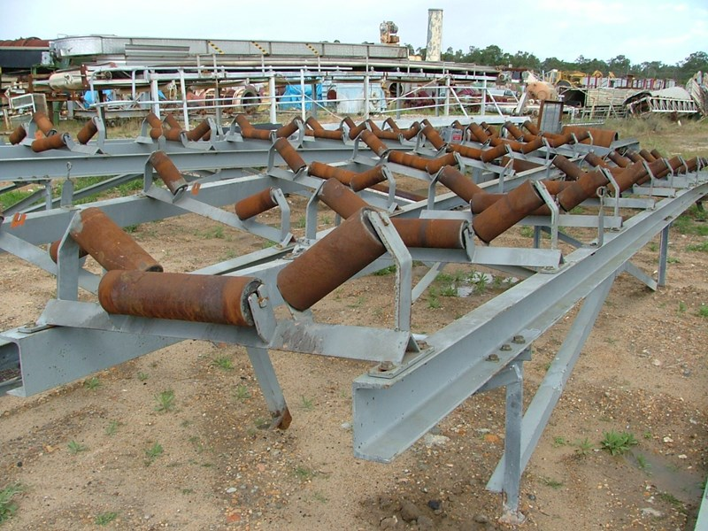belt conveyor sections 750 wide belt frames 28843 001