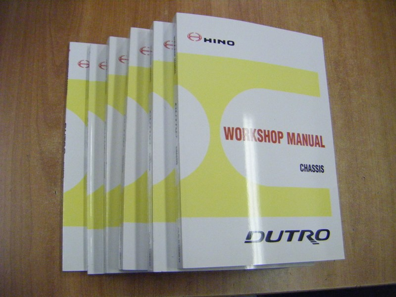 dutro service manuals set 12908 001