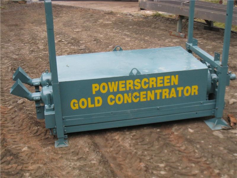 powerscreen gold concentrator 9922 002