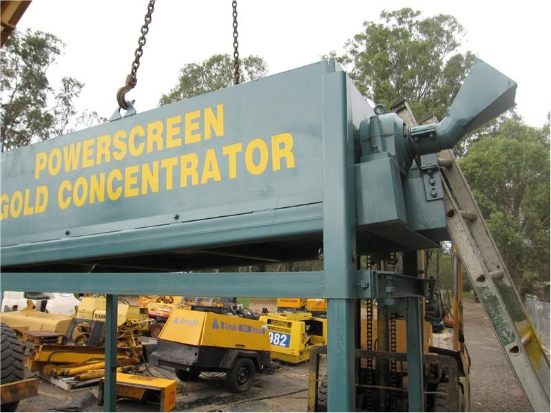 powerscreen gold concentrator 9922 012
