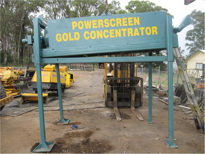 powerscreen gold concentrator 9922 013