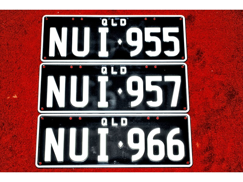 number plates nui 957 36068 001