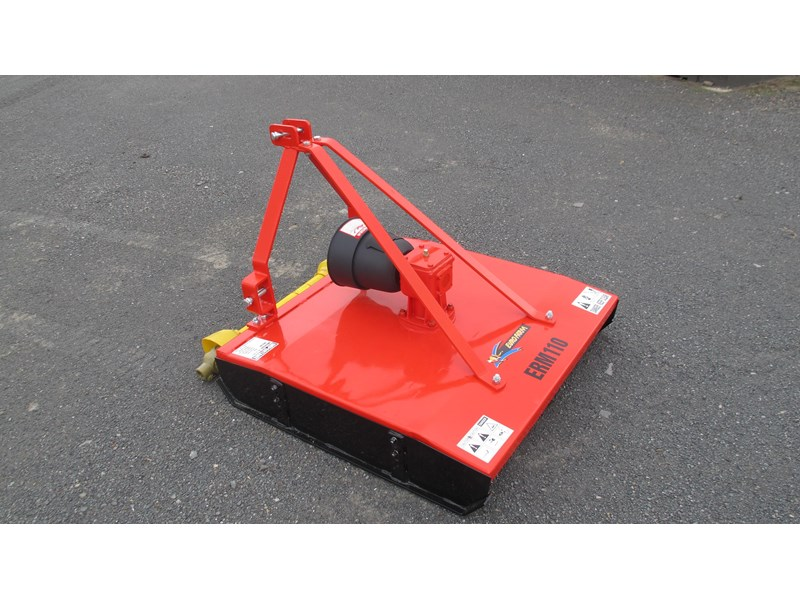 eurofarm erm110 rotary mower /topper/slasher 34338 002