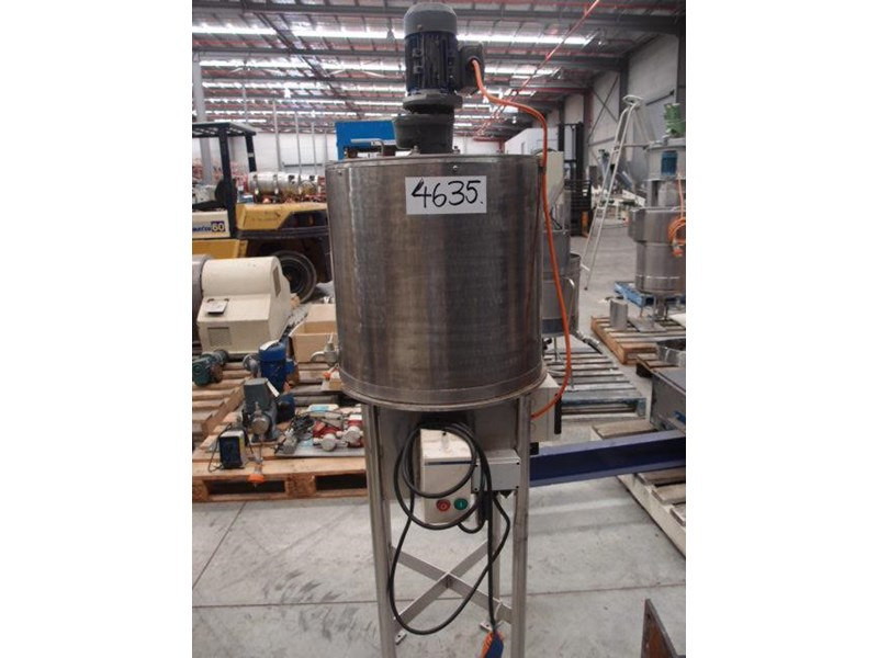 stainless steel mixing tank 80lt 63890 001