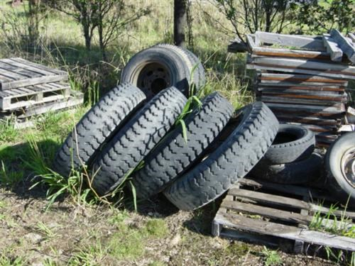 other truck and tractor tyres 2nd hand 76621 002