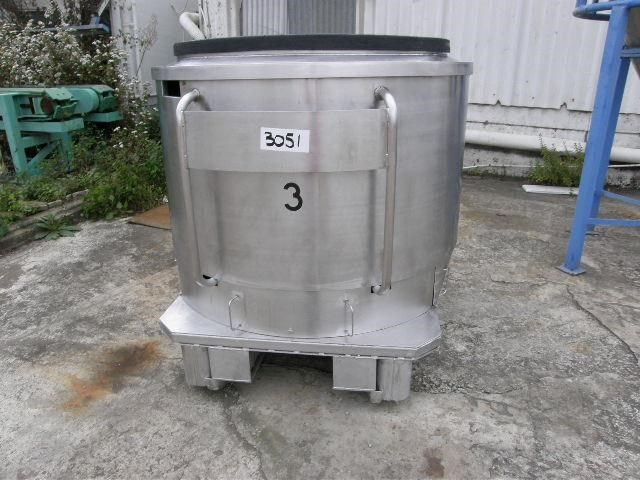 custom built stainless steel jacketed tank 80099 001