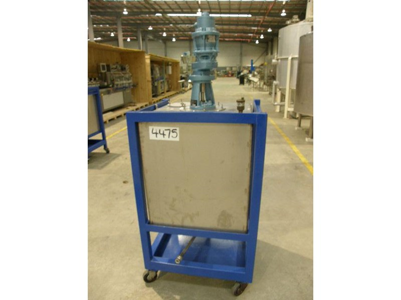 stainless steel mixing tank 240lt 80128 001