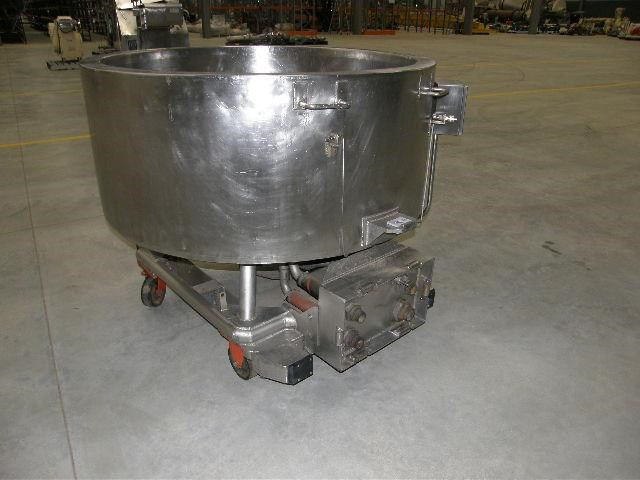 custom built stainless steel jacketed tank 80113 002