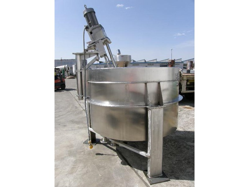 custom built stainless steel jacketed mixing 80053 002