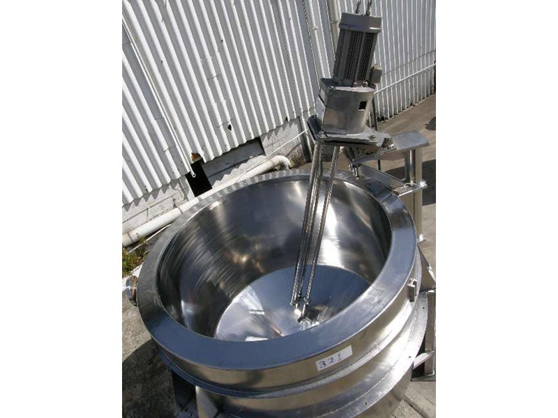 custom built stainless steel jacketed mixing 80053 003