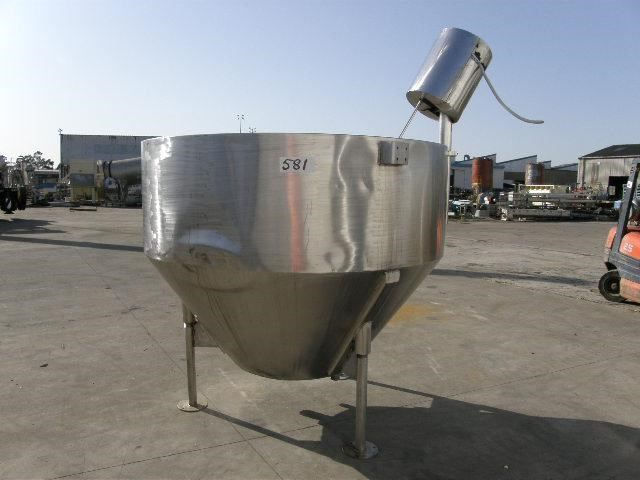 stainless steel jacketed mixing tank 2,000lt 80062 001