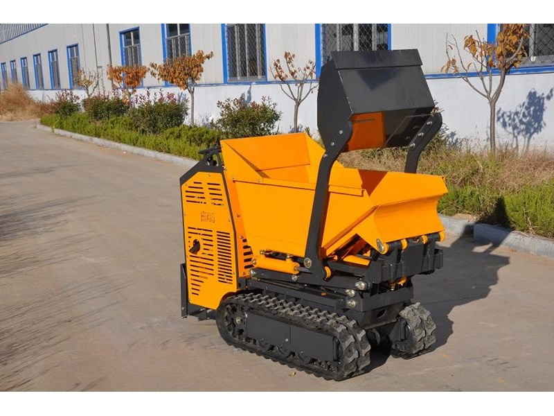 hysoon high lift dumper with self loading bucket 91152 004