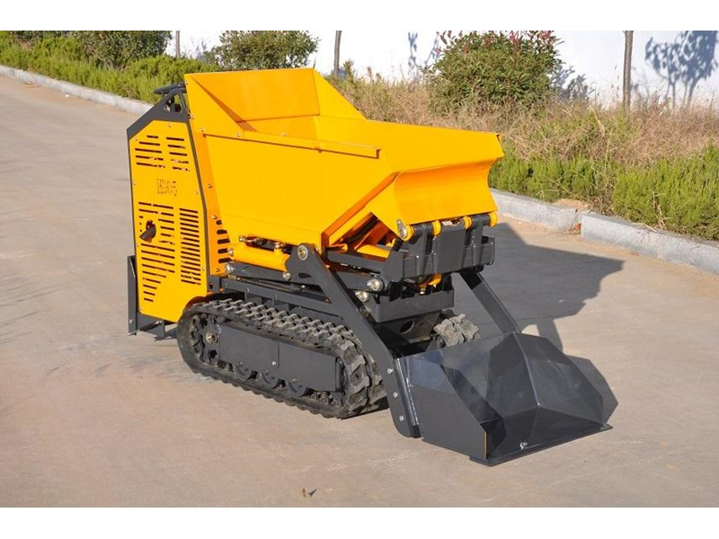 hysoon high lift dumper with self loading bucket 91152 006
