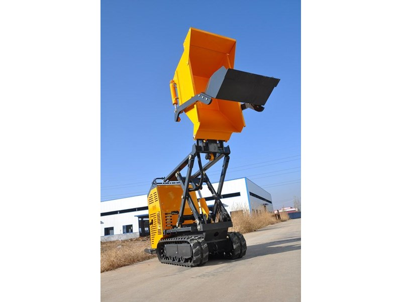 hysoon high lift dumper with self loading bucket 91152 002
