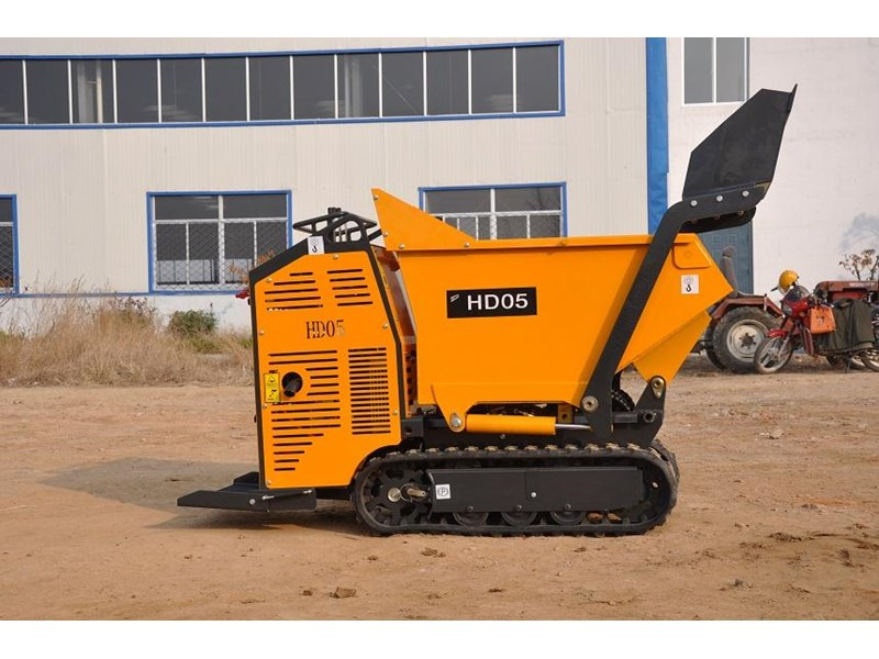hysoon high lift dumper with self loading bucket 91152 005