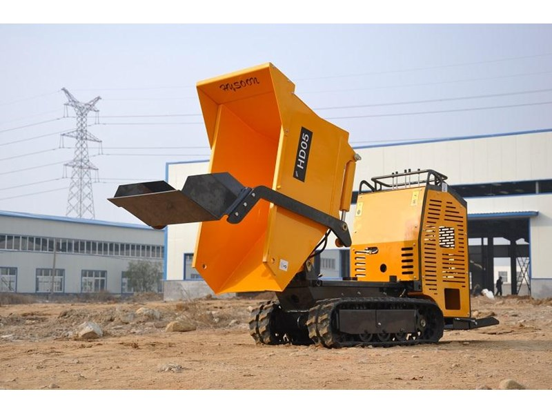 hysoon high lift dumper with self loading bucket 91152 007