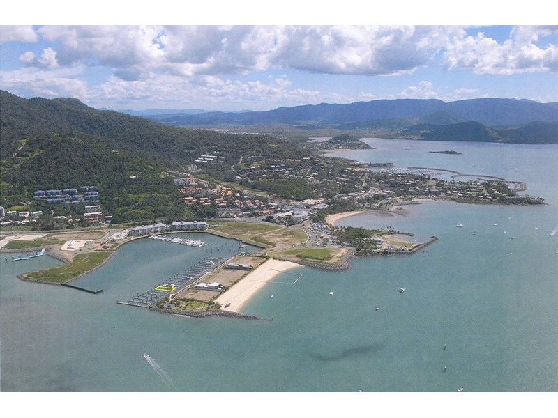 30m x 11.3 wide multihull berth in the whitsundays - 96 year lease in place 109992 001