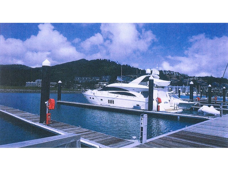 30m x 11.3 wide multihull berth in the whitsundays - 96 year lease in place 109992 002