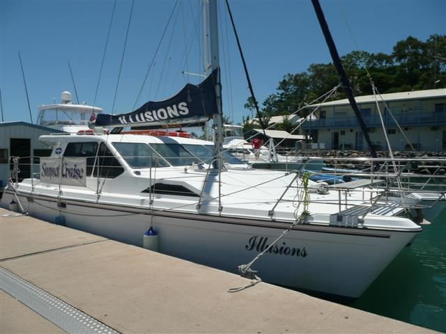 voyager 40' commercial charter catamaran 117612 002
