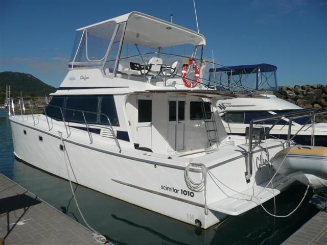 scimitar 1010 flybridge catamaran 117641 002