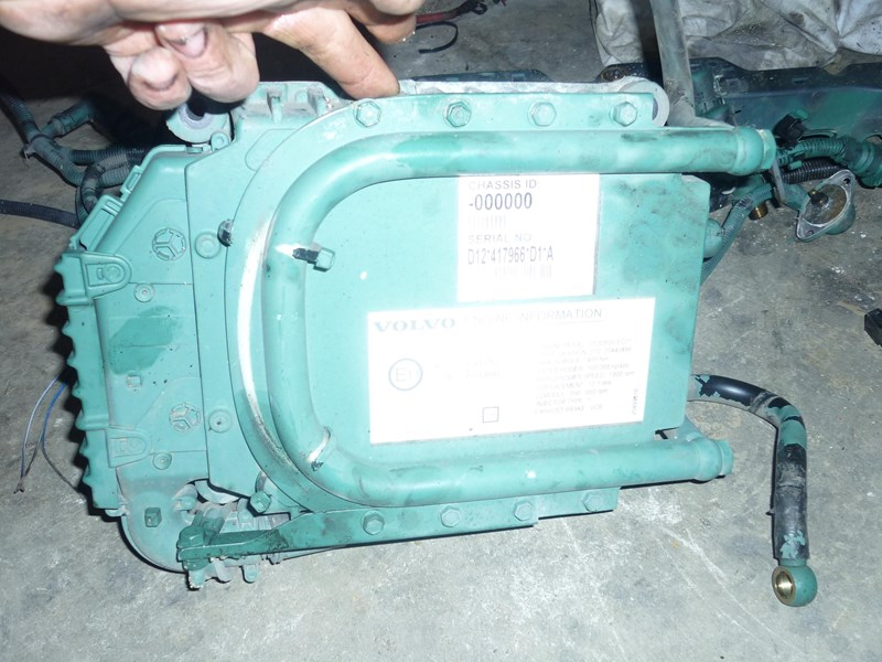 volvo engine ecm d12d 118972 002