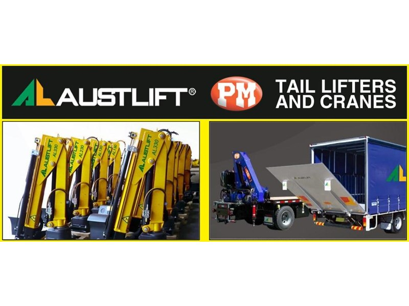 austlift cbtc now distributing the full range of pm cranes & austlift tailgate loaders including micro cranes 121536 002