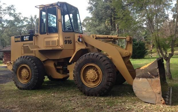 caterpillar 916 loader 123342 001
